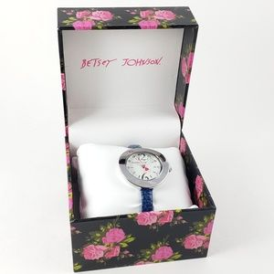 NWT! NIB! Betsey Johnson Watch